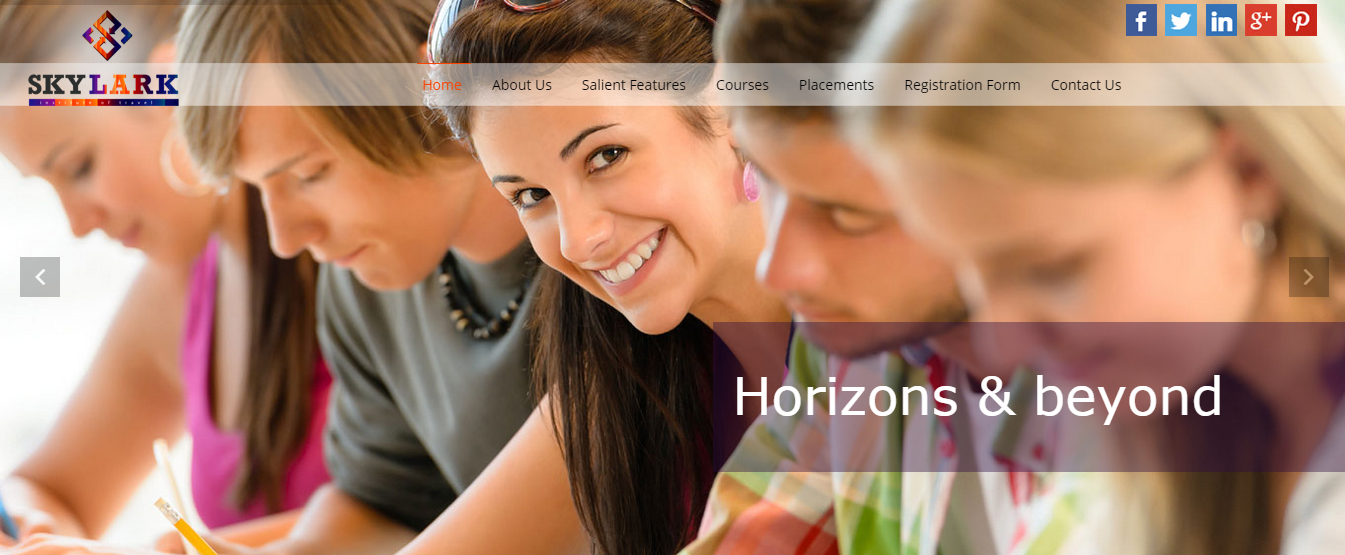 Horizons & Beyond Web Design